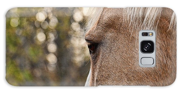 Equine Study 5 Galaxy Case by Laurinda Bowling