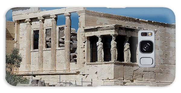 Erechtheion With The Porch Of Maidens Galaxy Case