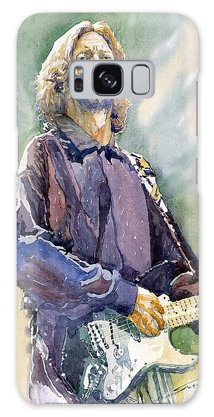 Portret Galaxy Case - Eric Clapton 05 by Yuriy Shevchuk