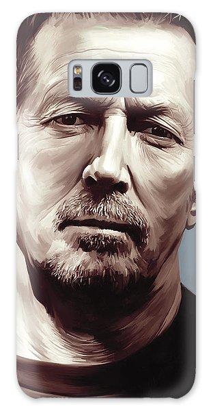 Eric Clapton Galaxy Case - Eric Clapton Artwork by Sheraz A