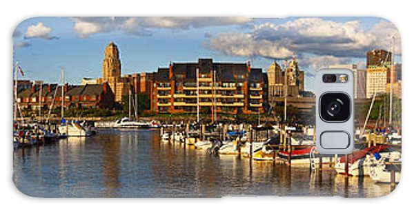 Erie Basin Marina Panorama Galaxy Case