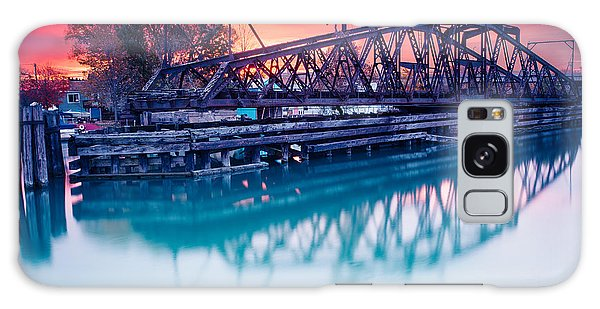 Erie Canal Swing Bridge Galaxy Case