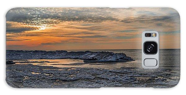 Erie Ice Dunes Galaxy Case