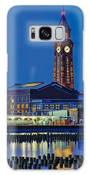 Galaxy Case featuring the photograph Erie Lackawanna Terminal Hoboken by Susan Candelario