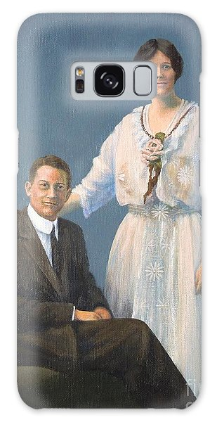 Ernest And Helen Barnes Galaxy Case