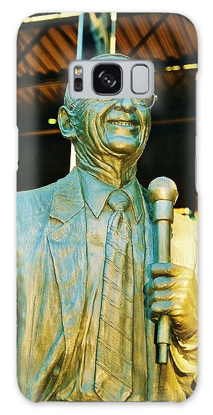 Ernie Harwell Statue At The Copa Galaxy Case