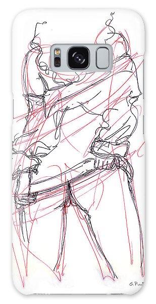 Erotic Art Drawings 6 Galaxy Case