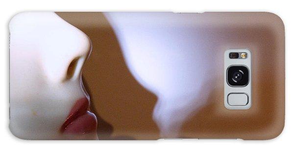 Erotic Woman Face Galaxy Case
