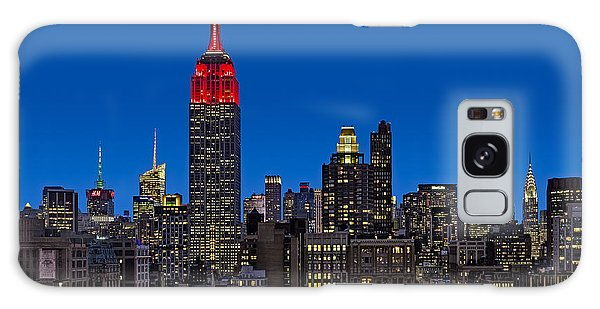 Esb Surrounded By The Flatiron District Galaxy Case