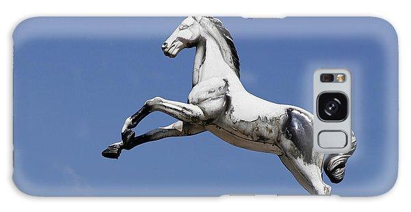 Escaped Carousel Horse Galaxy Case