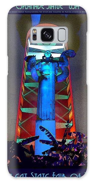 Esplanade Statue - U S A Galaxy Case