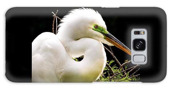 Egret Galaxy Case - Essence Of Beauty by Karen Wiles