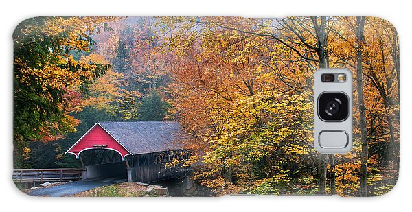 Essence Of New England - New Hampshire Autumn Classic Galaxy Case