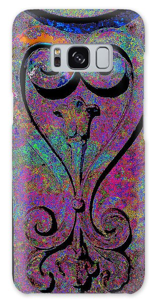 Etched Love Galaxy Case