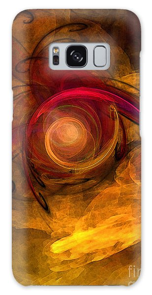 Eternity Of Being-abstract Expressionism Galaxy Case