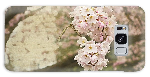 Ethereal Beauty Of Cherry Blossoms Galaxy Case by Maria Janicki