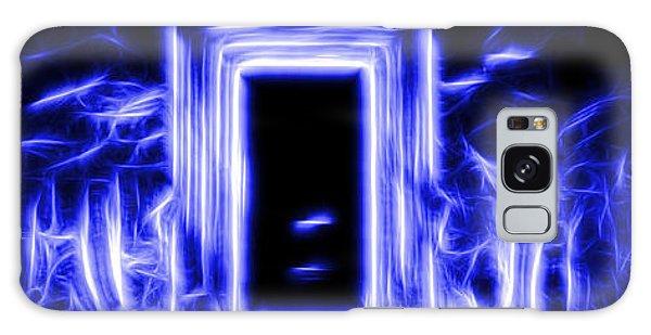 Ethereal Doorways Blue Galaxy Case