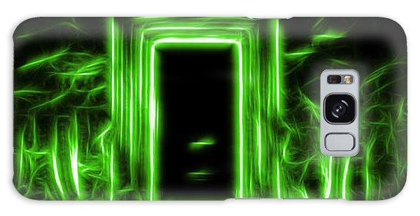 Ethereal Doorways Green Galaxy Case