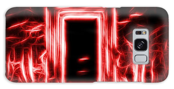 Ethereal Doorways Red Galaxy Case