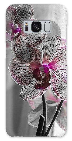 Ethereal Orchid Galaxy Case