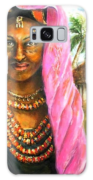 Ethiopia Bride Galaxy Case by Bernadette Krupa