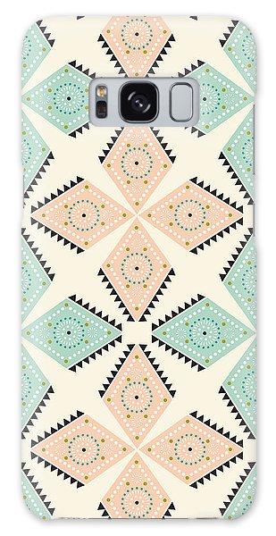 Decorative Galaxy Case - Ethnic Folk Print by MGL Meiklejohn Graphics Licensing