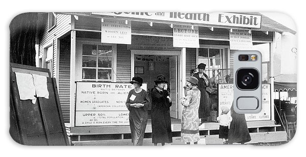 Controversial Galaxy Case - Eugenics Exhibit At Public Fair by American Philosophical Society