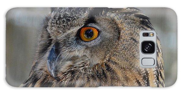 Eurasian Owl Galaxy Case by Debby Pueschel