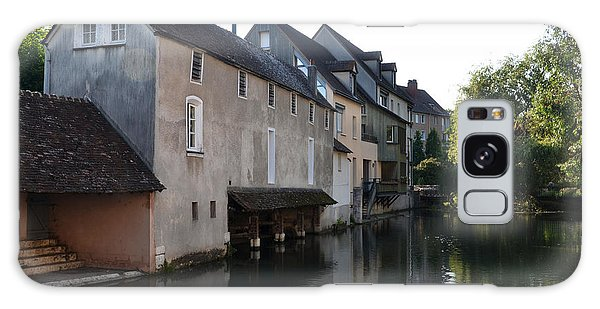 Eure River And Old Fulling Mills In Chartres Galaxy Case