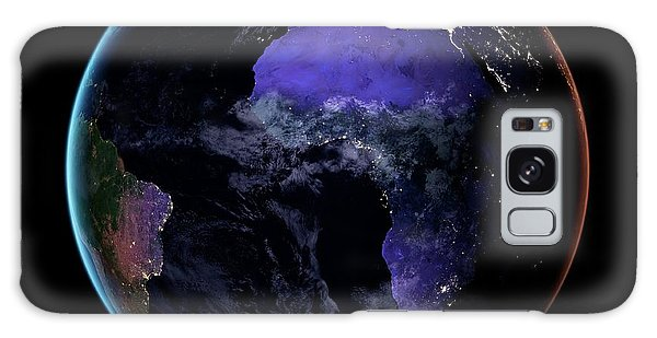 Earth From Space Galaxy Case - Europe And Africa At Night by Nasa Earth Observatory/joshua Stevens/miguel Roman/gsfc/science Photo Library