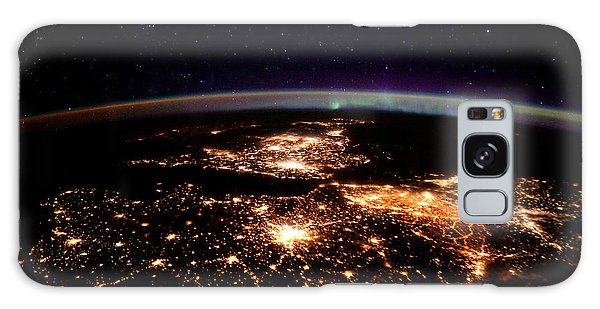 Europe At Night, Satellite View Galaxy Case by Science Source