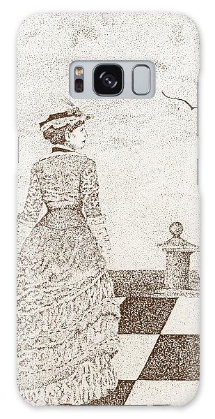 European Lady In The 19 Century Galaxy Case