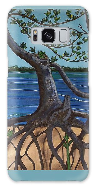 Evans Landing Mangroves Galaxy Case