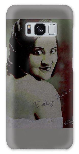 Evelyn Preer Galaxy Case by Chelle Brantley