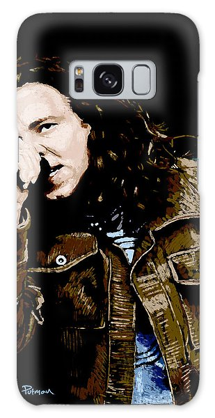 Pearl Jam Galaxy Case - Even Flow by Kevin Putman