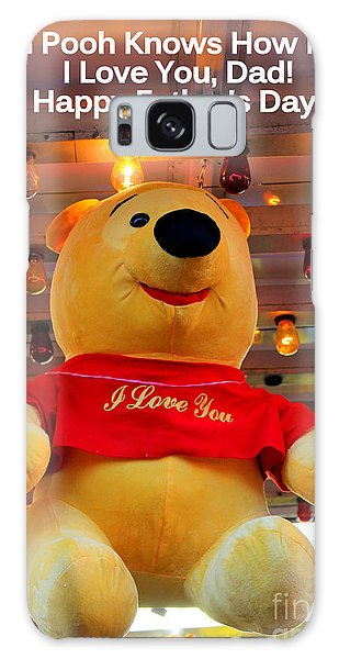Even Pooh Knows Card Galaxy Case