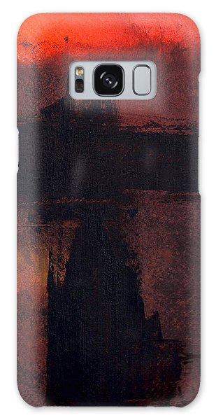 Evening Bridge Galaxy Case by Richard Hinger
