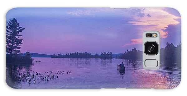 Evening Canoeing  Galaxy Case by Alana Ranney