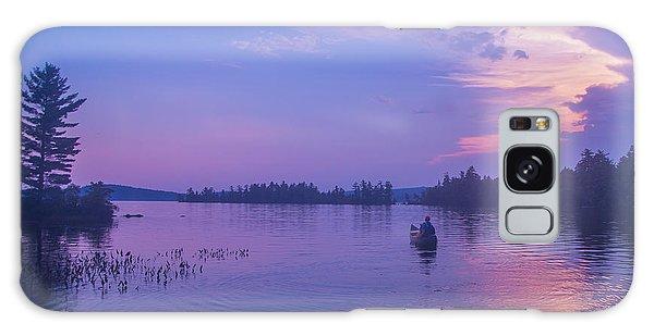 Evening Canoeing  Galaxy Case