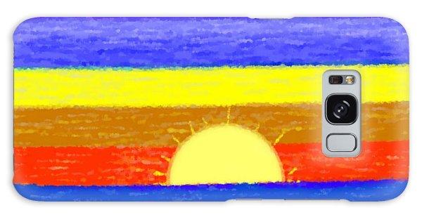Evening Colors Galaxy Case by Dr Loifer Vladimir