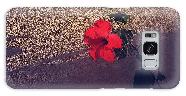 Hibiscus Galaxy Case - Evening Comes Softly by Laurie Search