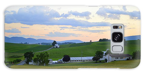Evening Countryside #1 - Millmont Pa Galaxy Case