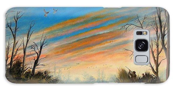 Evening Duck Hunt Galaxy Case