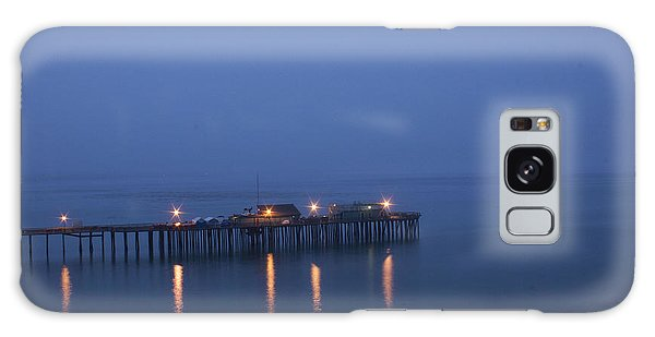 Evening Enters Capitola Galaxy Case by Lora Lee Chapman