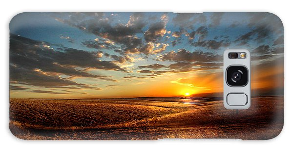 Evening Glow In Chase County Galaxy Case by Rod Seel