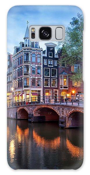 Evening In Amsterdam Galaxy Case