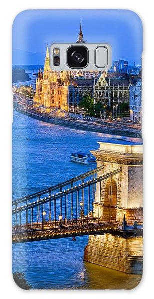 Evening In Budapest Galaxy Case