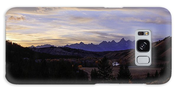 Evening In Gros Ventre Galaxy Case