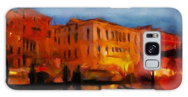 Evening In Venice Galaxy Case