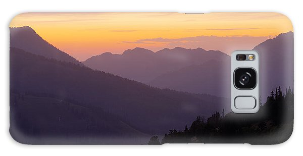 Layers Galaxy Case - Evening Layers by Chad Dutson